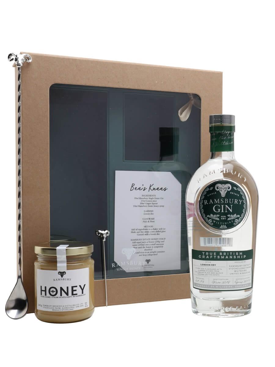 Ramsbury Single Estate Gin Bees Knees Gift Set