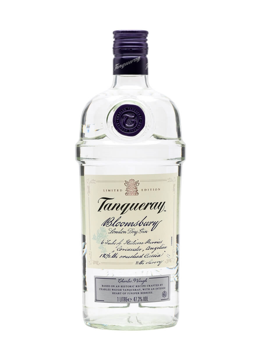 how to drink tanqueray gin