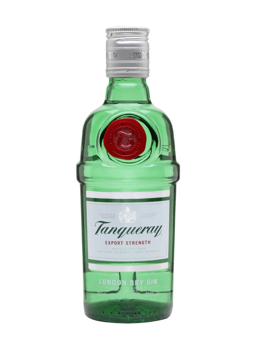 Tanqueray Export Strength / Half Bottle