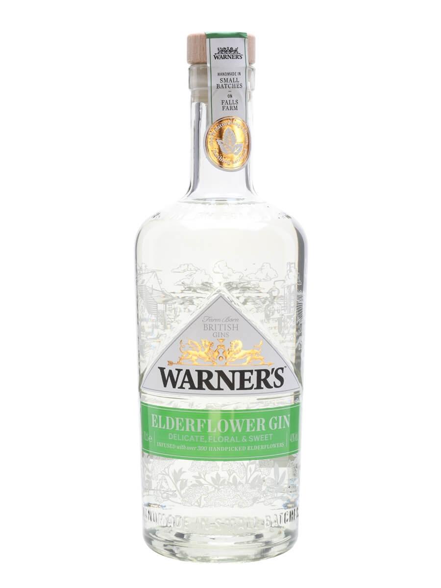 Warner's Elderflower Infused Gin