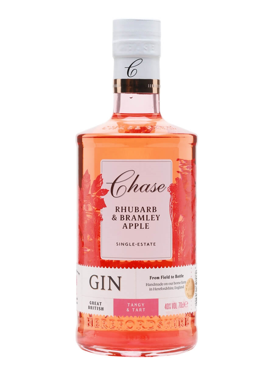Chase Rhubarb and Bramley Apple Gin