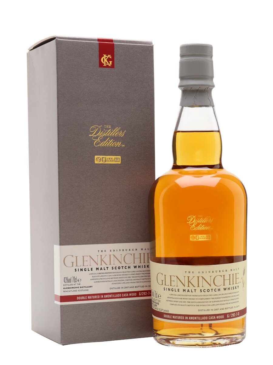 Glenkinchie 2007 Distillers Edition / Bot.2019