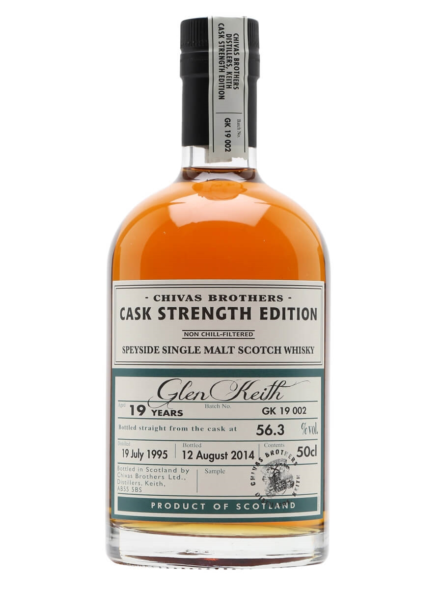 Glen Keith 1995 / 19 Year Old / Cask Strength Edition
