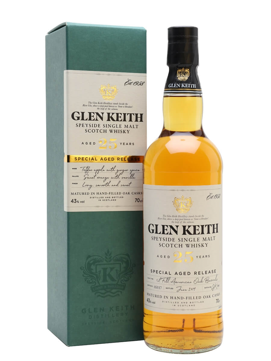 Glen Keith 25 Year Old / Secret Speyside