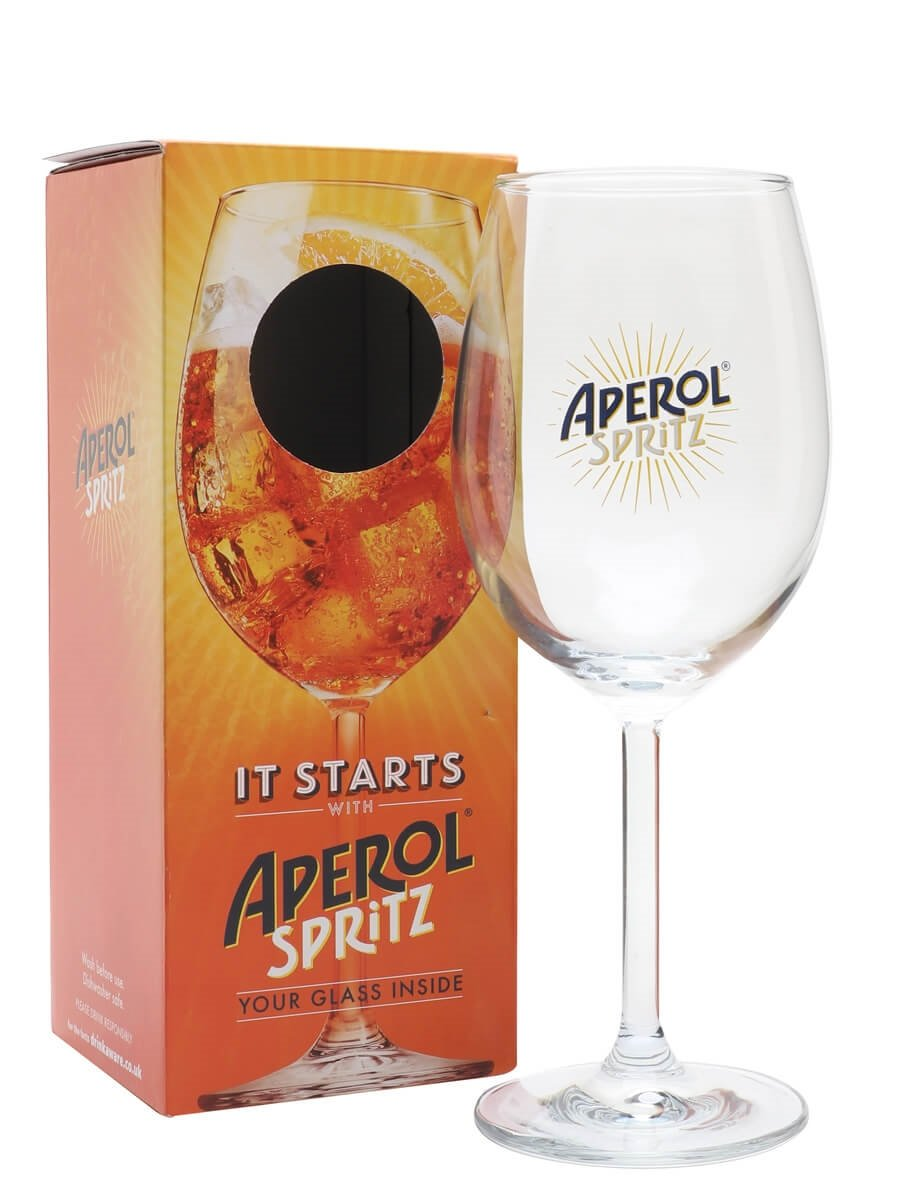 Aperol Spritz In Champagne Glass