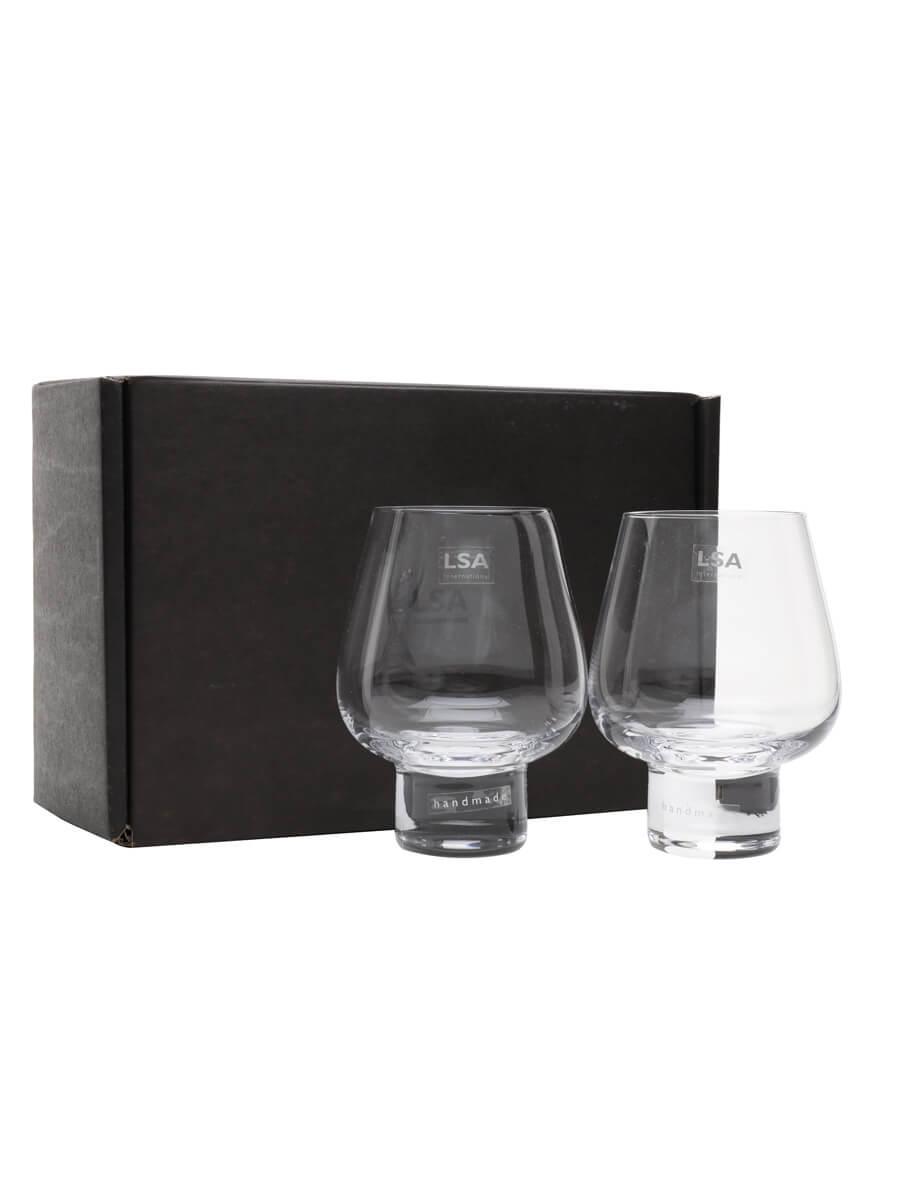 Two Madrid Cognac-Brandy Glasses / LSA / 2x46cl