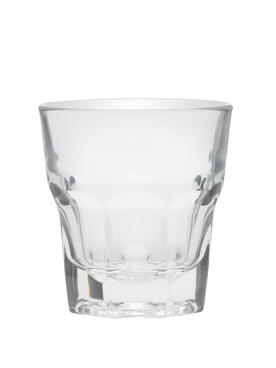 Tall Rocks Gibraltar Glass 9oz (25.5cl) / Duratuff