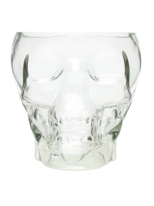 Glass Tiki Skull / 53oz (150cl)