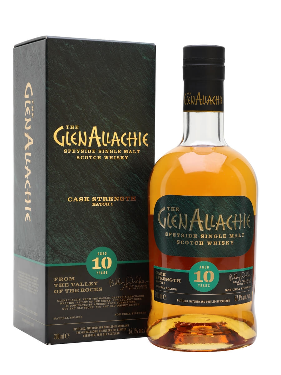 Glenallachie 10 Year Old Cask Strength / Batch 1