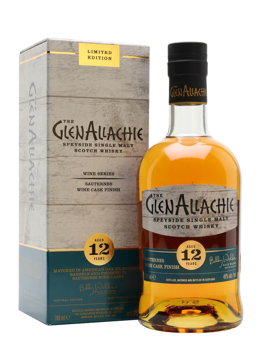 Glenallachie 12 Year Old / Sauternes Finish