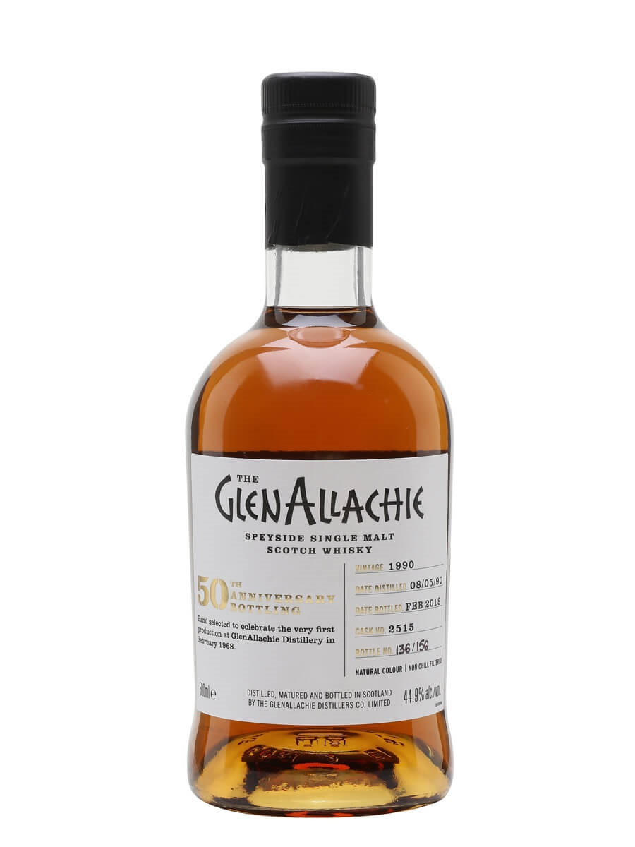 Glenallachie 1990 / 27 Year Old / Sherry Cask