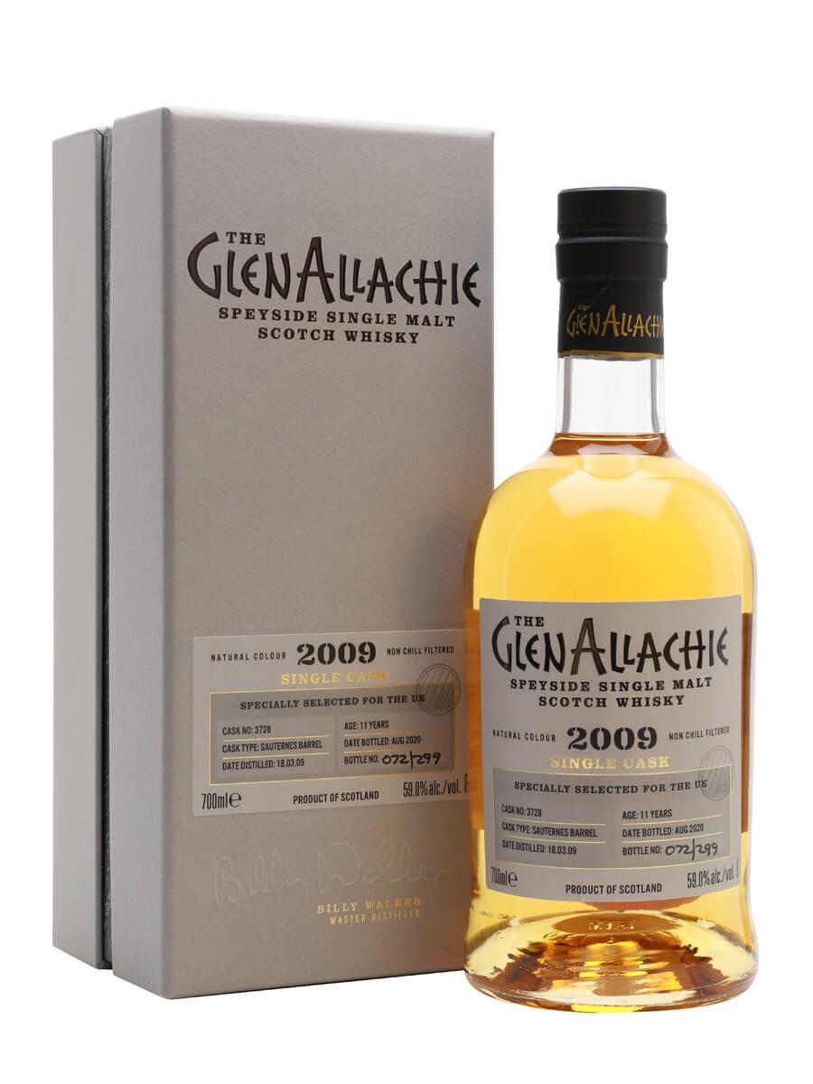 Glenallachie 2009 / 11 Year Old / Sauternes Barrel