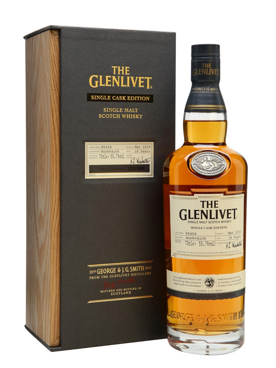 Glenlivet 18 Year Old Auchvaich / Single Cask