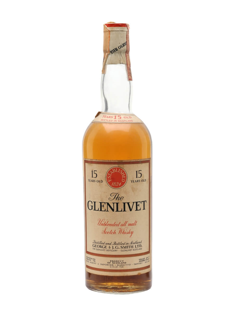 Glenlivet 1954 / 15 Year Old