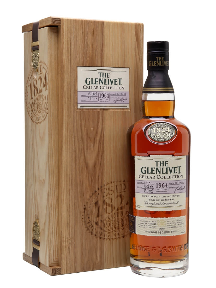 Glenlivet 1964 / 40 Year Old / 2nd Release