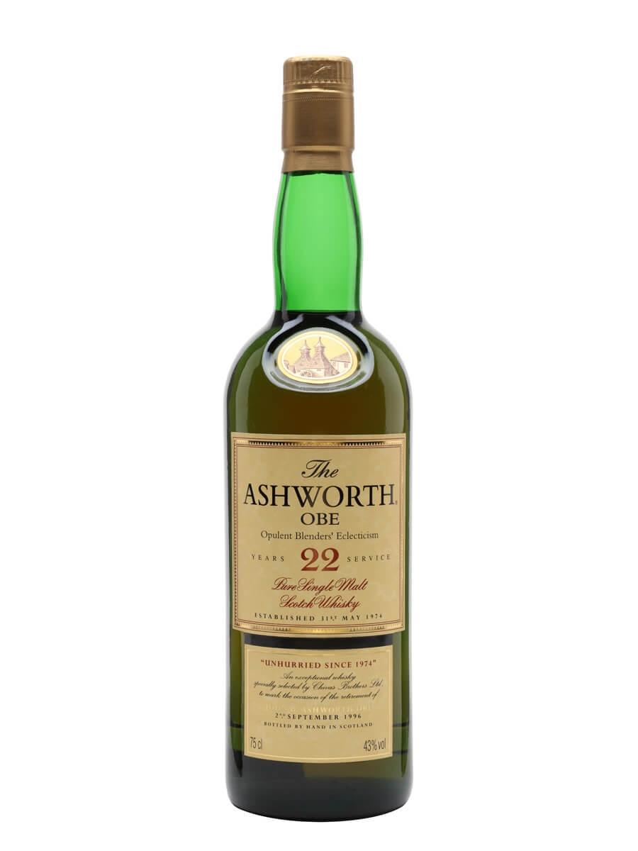 Glenlivet 22 Year Old / The Ashworth / Opulent Blenders Eclecticism