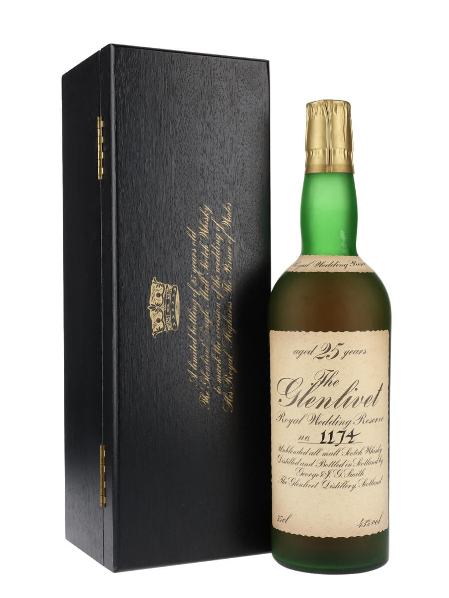 Glenlivet 25 Year Old / Royal Wedding Reserve