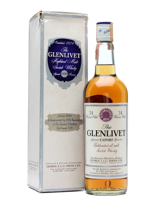 Glenlivet 34 Year Old / 150th Anniversary