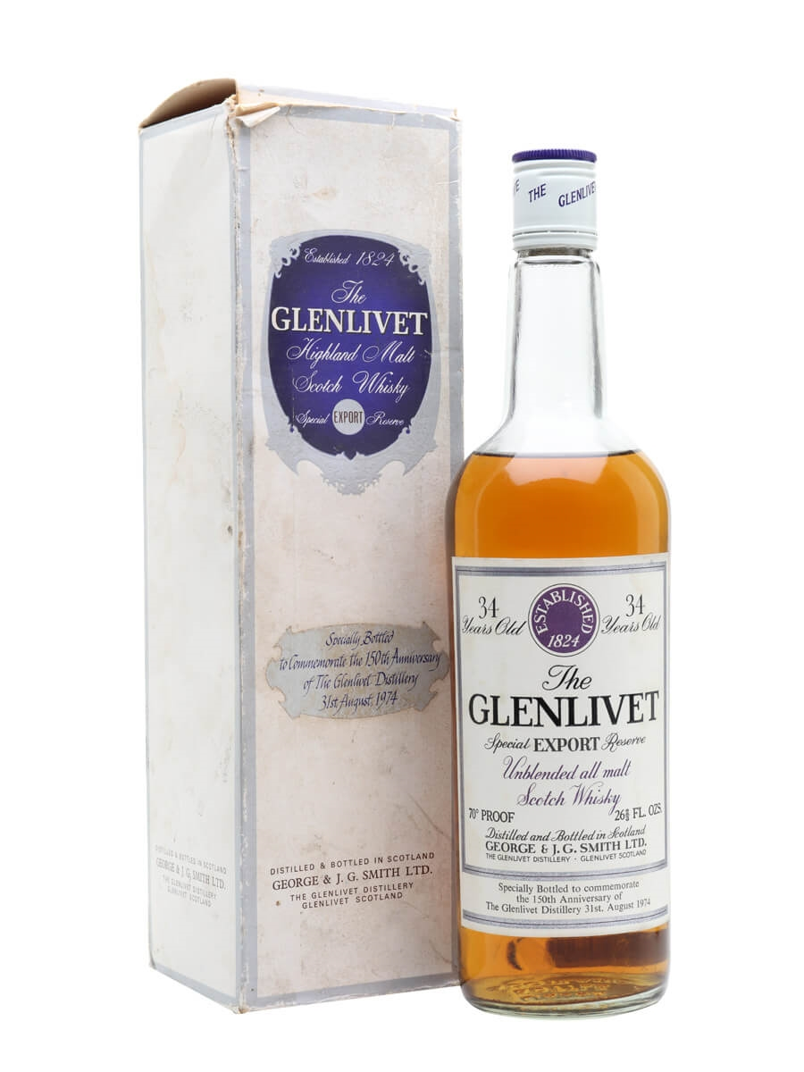 Glenlivet 34 Year Old / 150th Anniversary