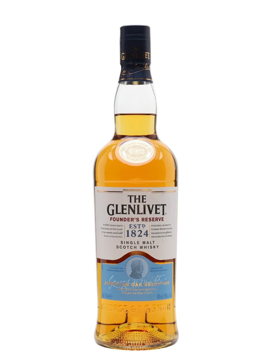 glenlivet founder s reserve scotch whisky the whisky exchange