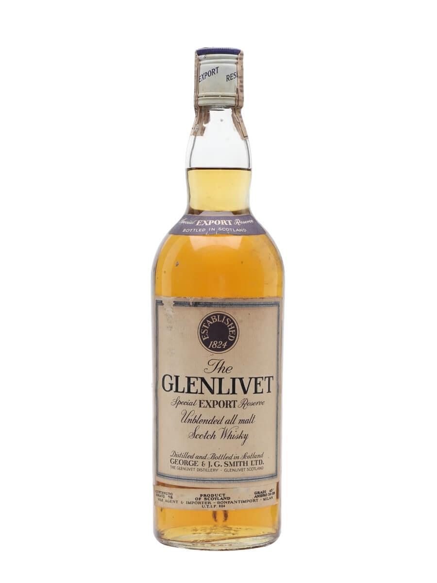 Glenlivet Special Export Reserve / Bot.1970s