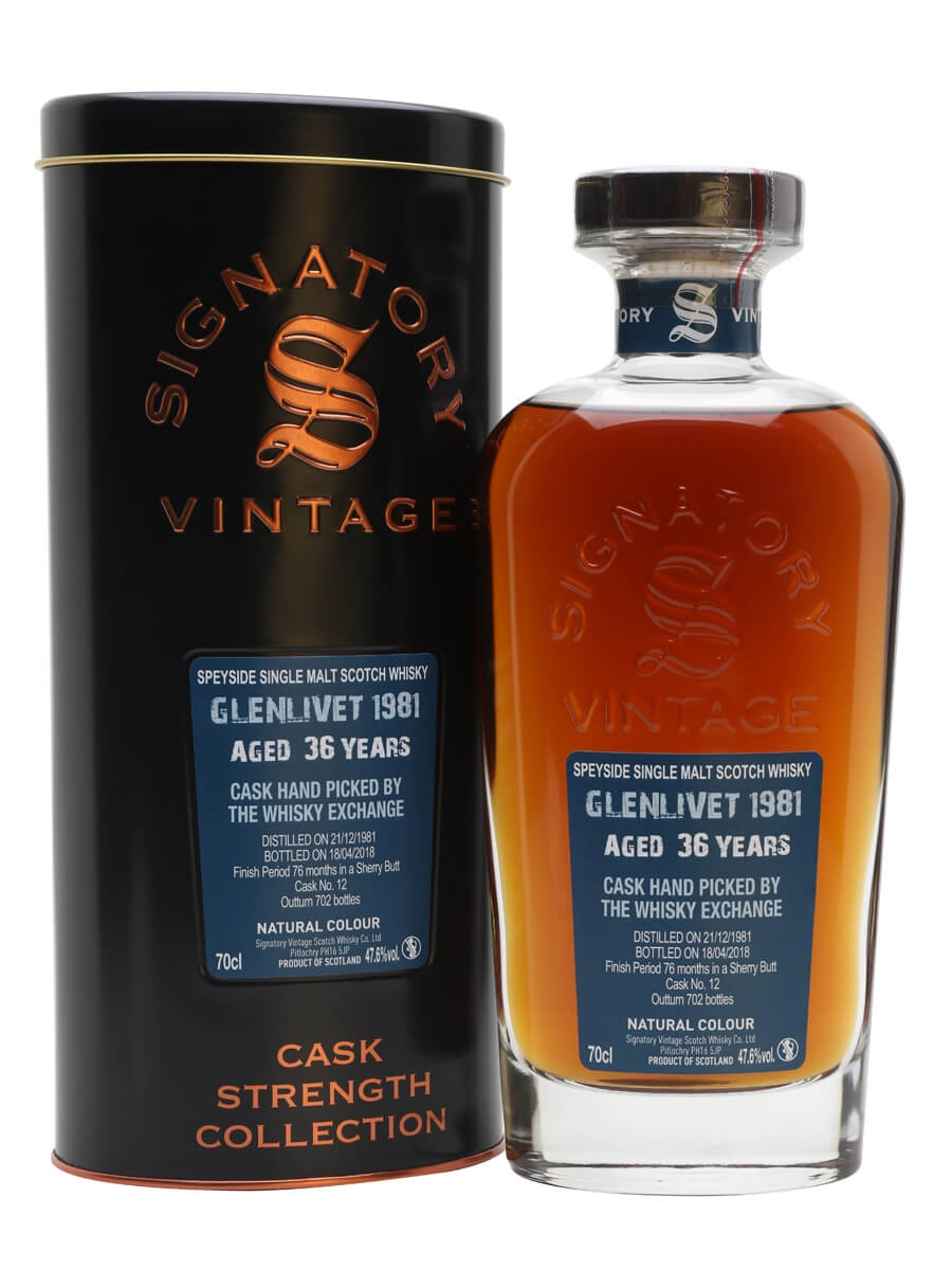 Glenlivet 1981 / 36 Year Old / Sherry Finish / TWE Exclusive