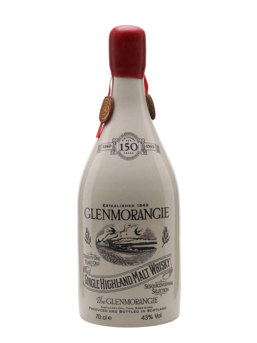 Glenmorangie Ceramic 21 Year Old / 150th Anniversary