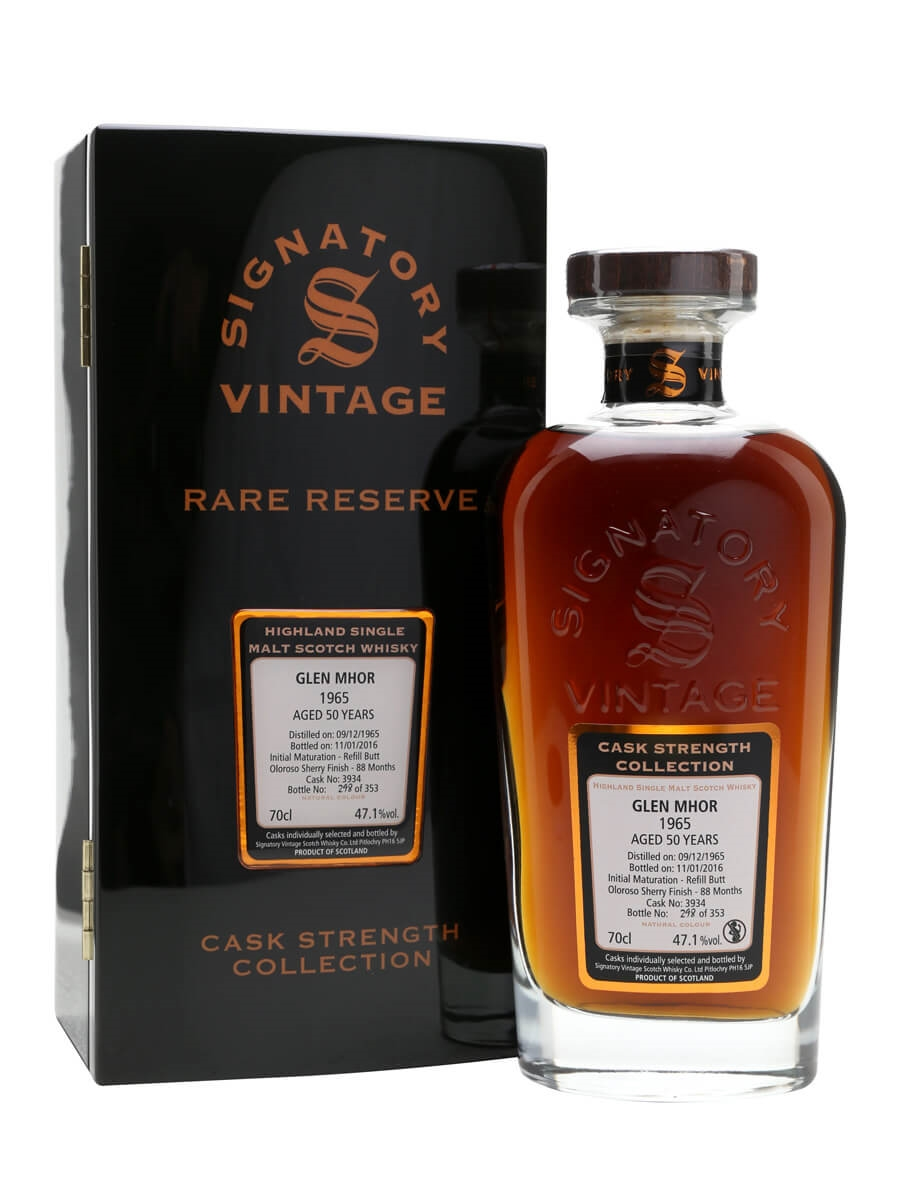 Glen Mhor 1965 / 50 Year Old / Rare Reserve