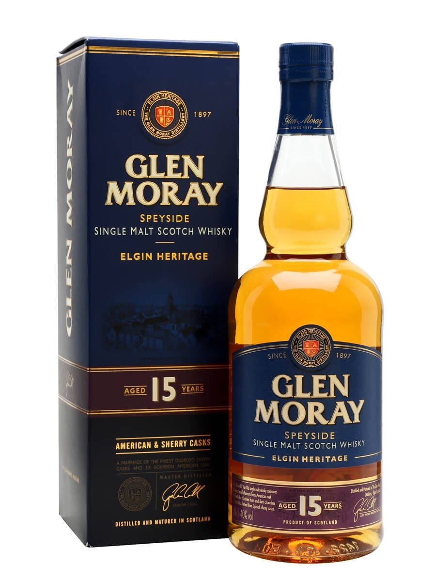 Glen Moray 15 Year Old Scotch Whisky : The Whisky Exchange