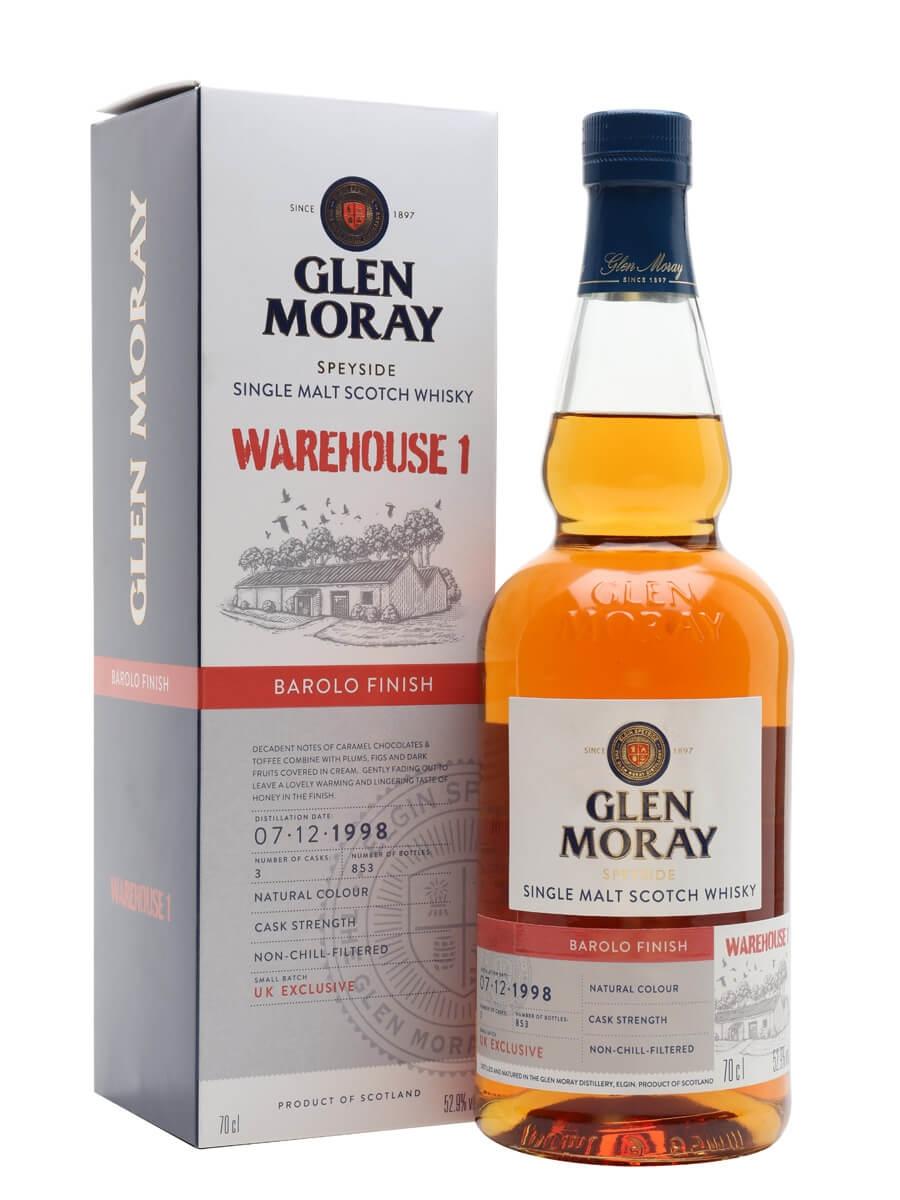 Glen Moray 1998 / Barolo Finish / Warehouse 1 Release