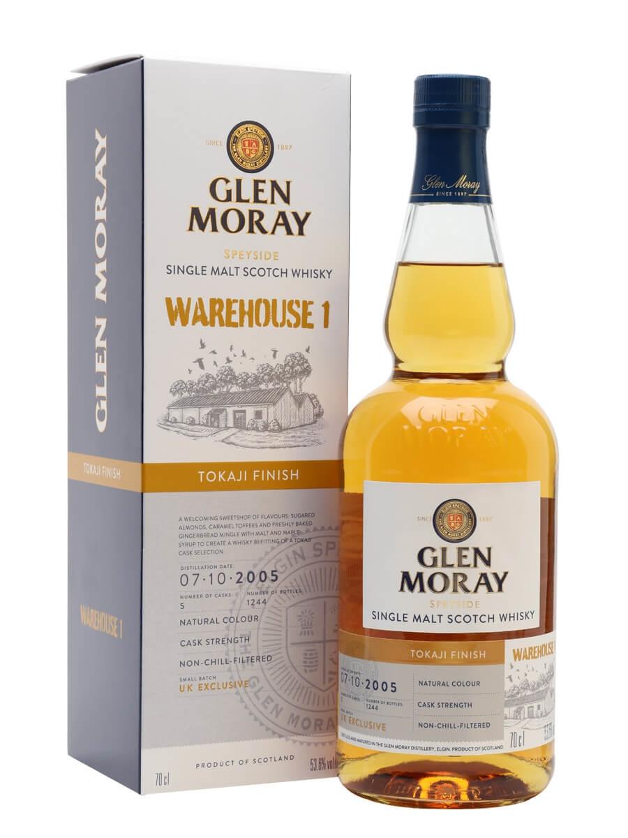 Glen Moray 2005 / Tokaji Cask / Warehouse 1 Release
