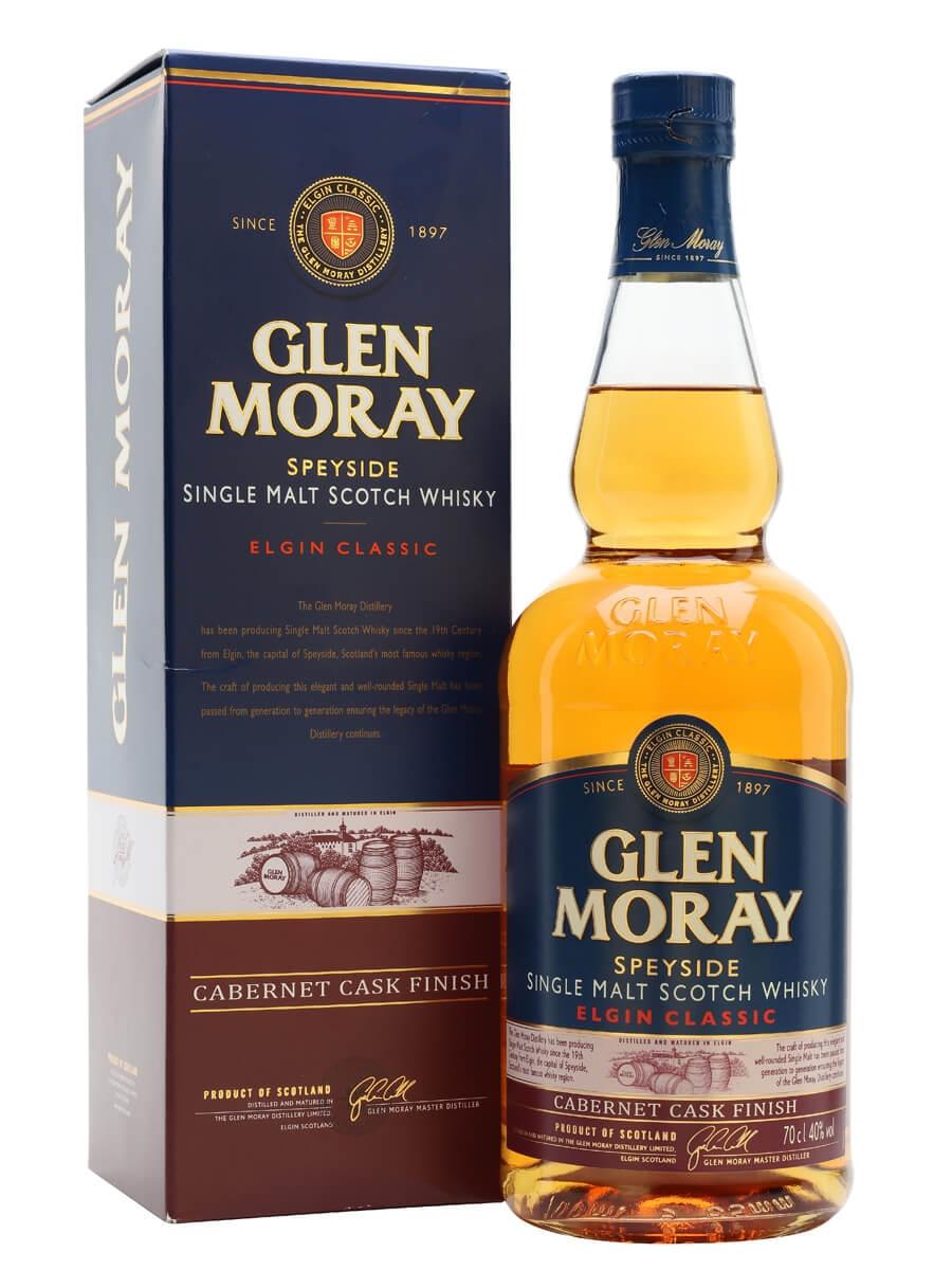 Glen Moray Classic / Cabernet Cask Finish