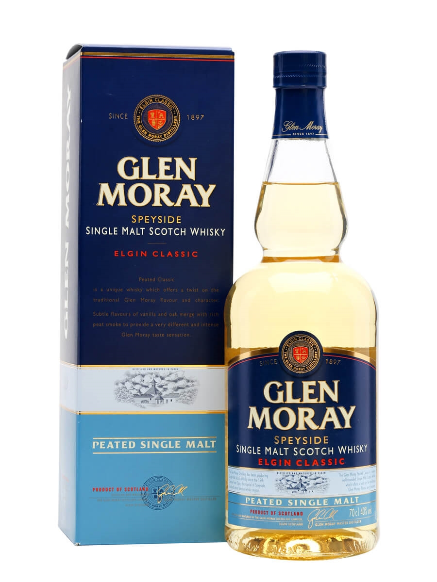 Glen Moray Peated Scotch Whisky : The Whisky Exchange