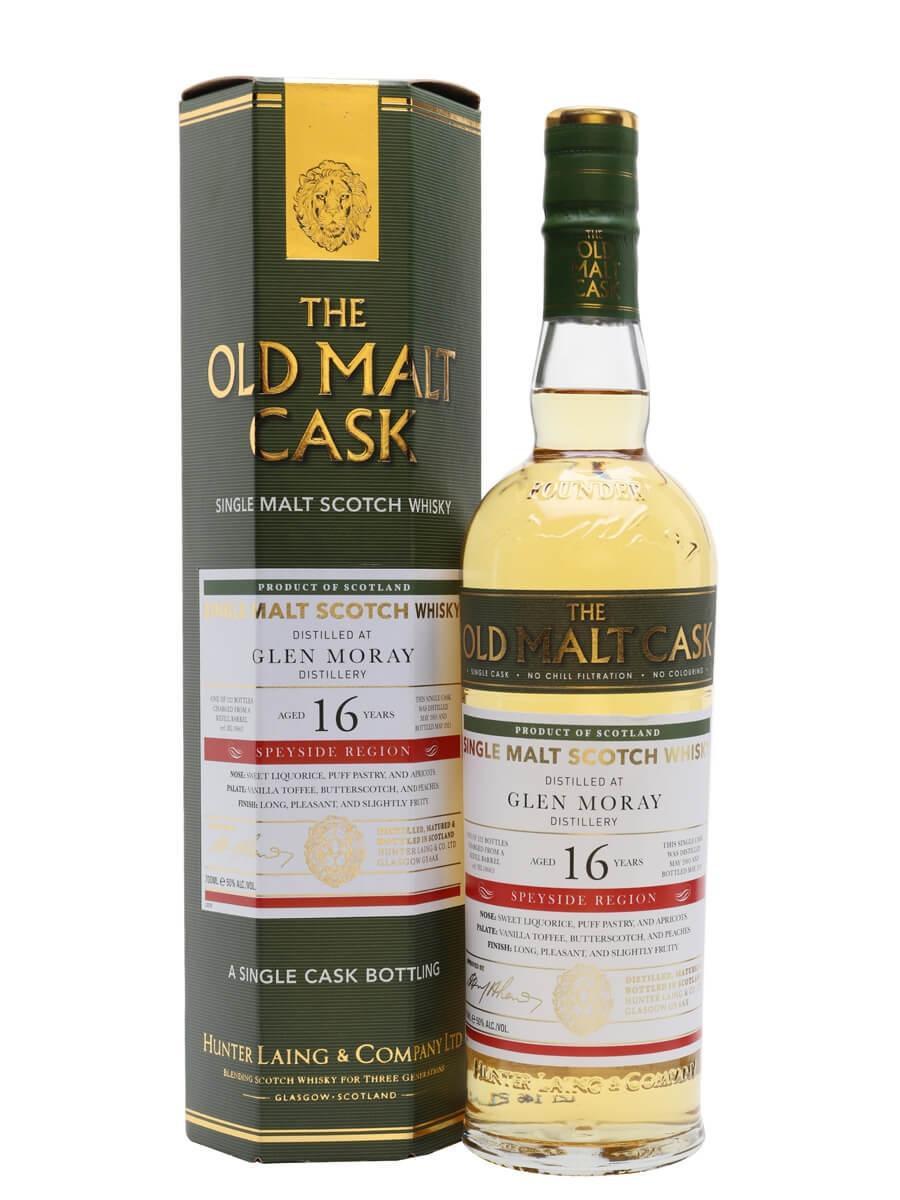Glen Moray 2005 / 16 Year Old / Old Malt Cask