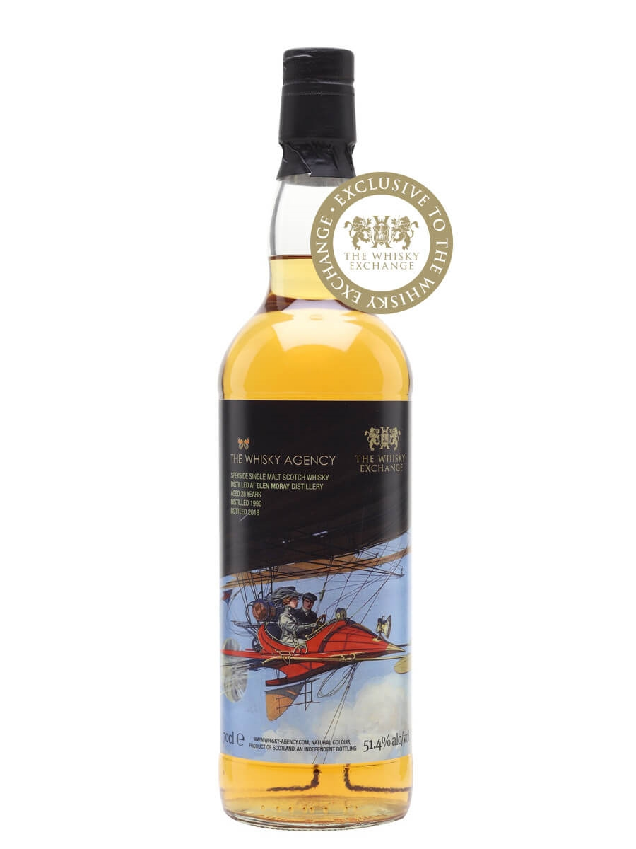 Glen Moray 1990 / The Whisky Agency / TWE Exclusive