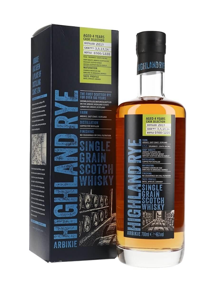 Arbikie Highland Rye 4 Year Old / Release 2