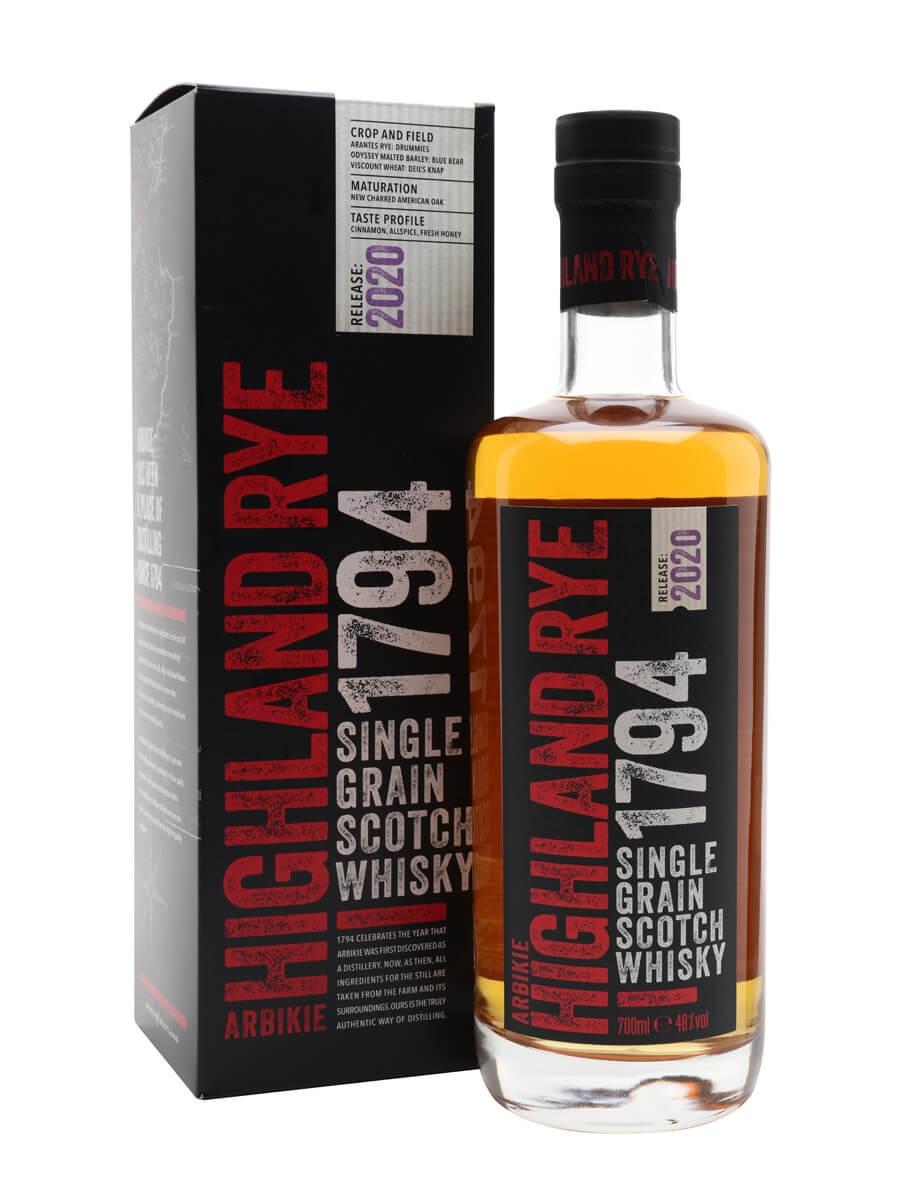 Arbikie Highland Rye 1794 / 2020 Release