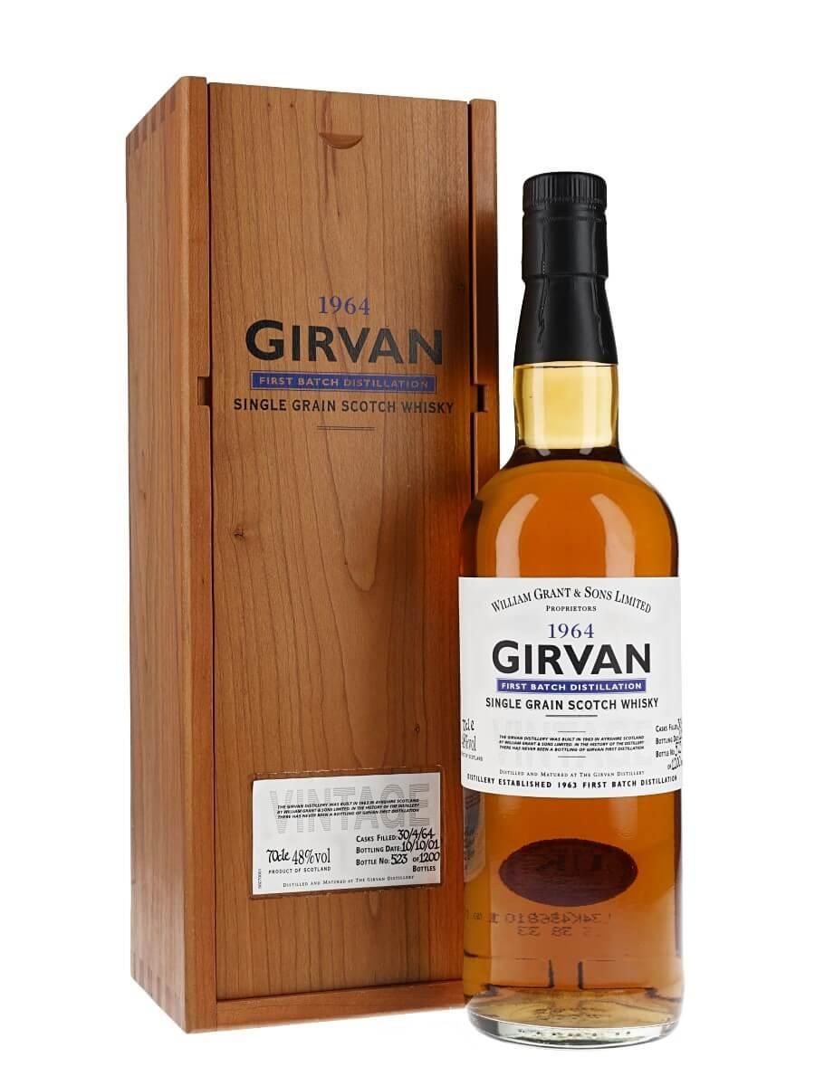 Girvan 1964 / 38 Year Old / First Batch Distillation