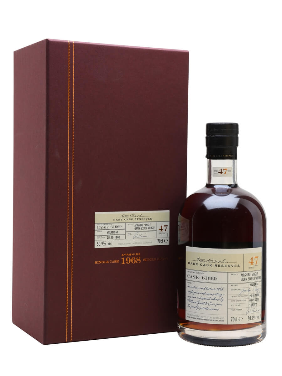 Girvan 1968 / 47 Year Old / Sherry Cask / Velier 70th