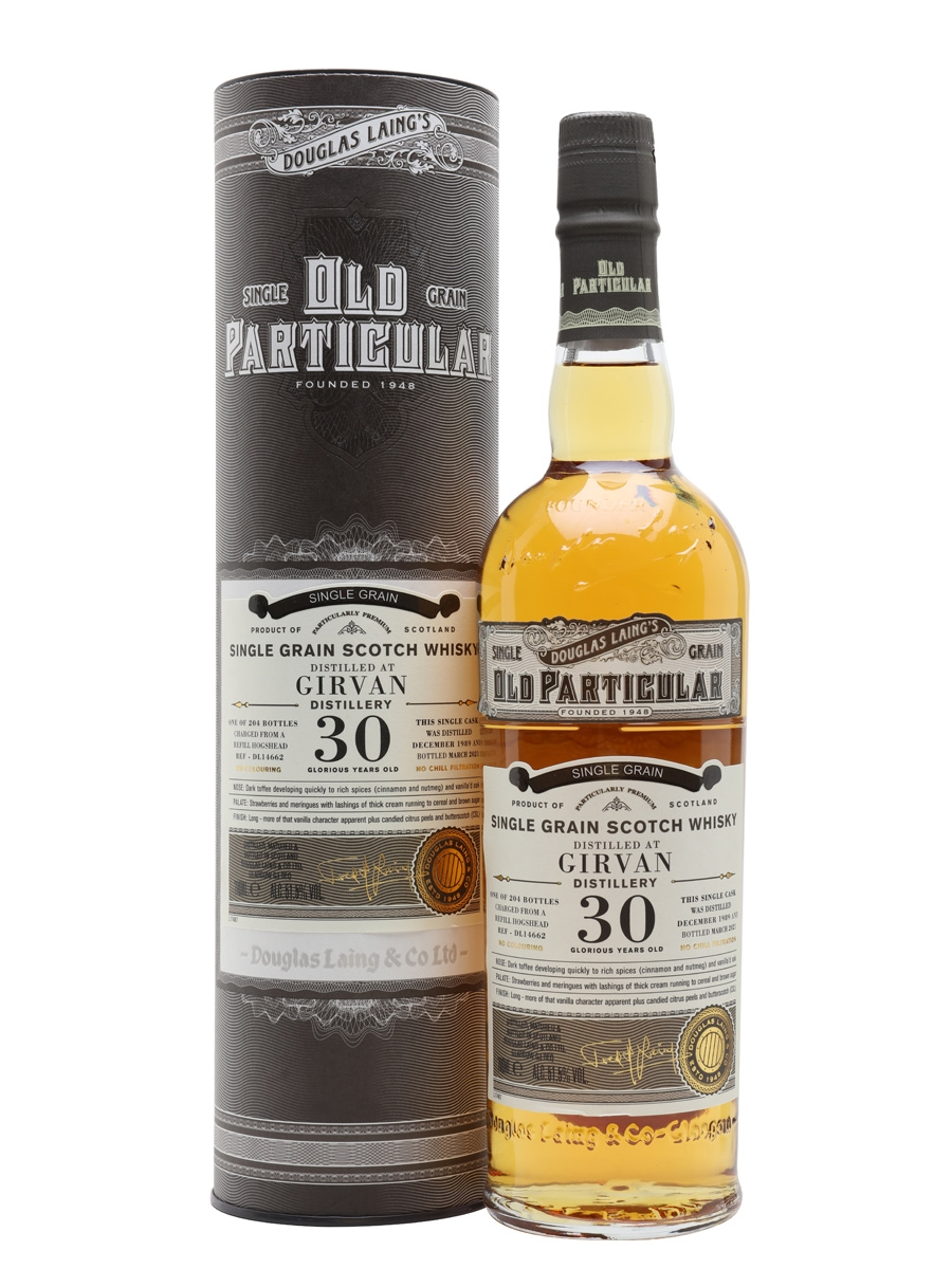 Girvan 1989 / 30 Year Old / Old Particular