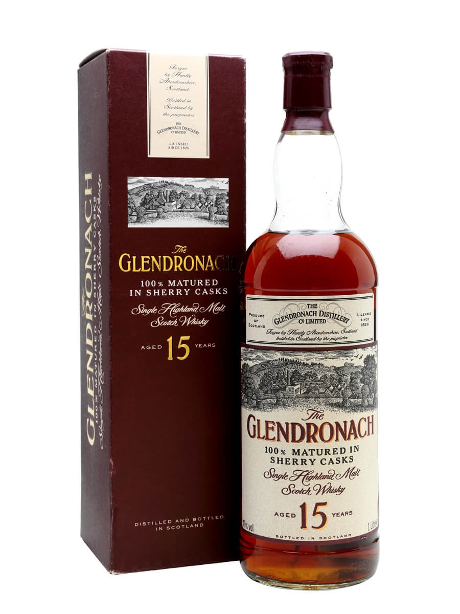 Glendronach 15 Year Old / Sherry