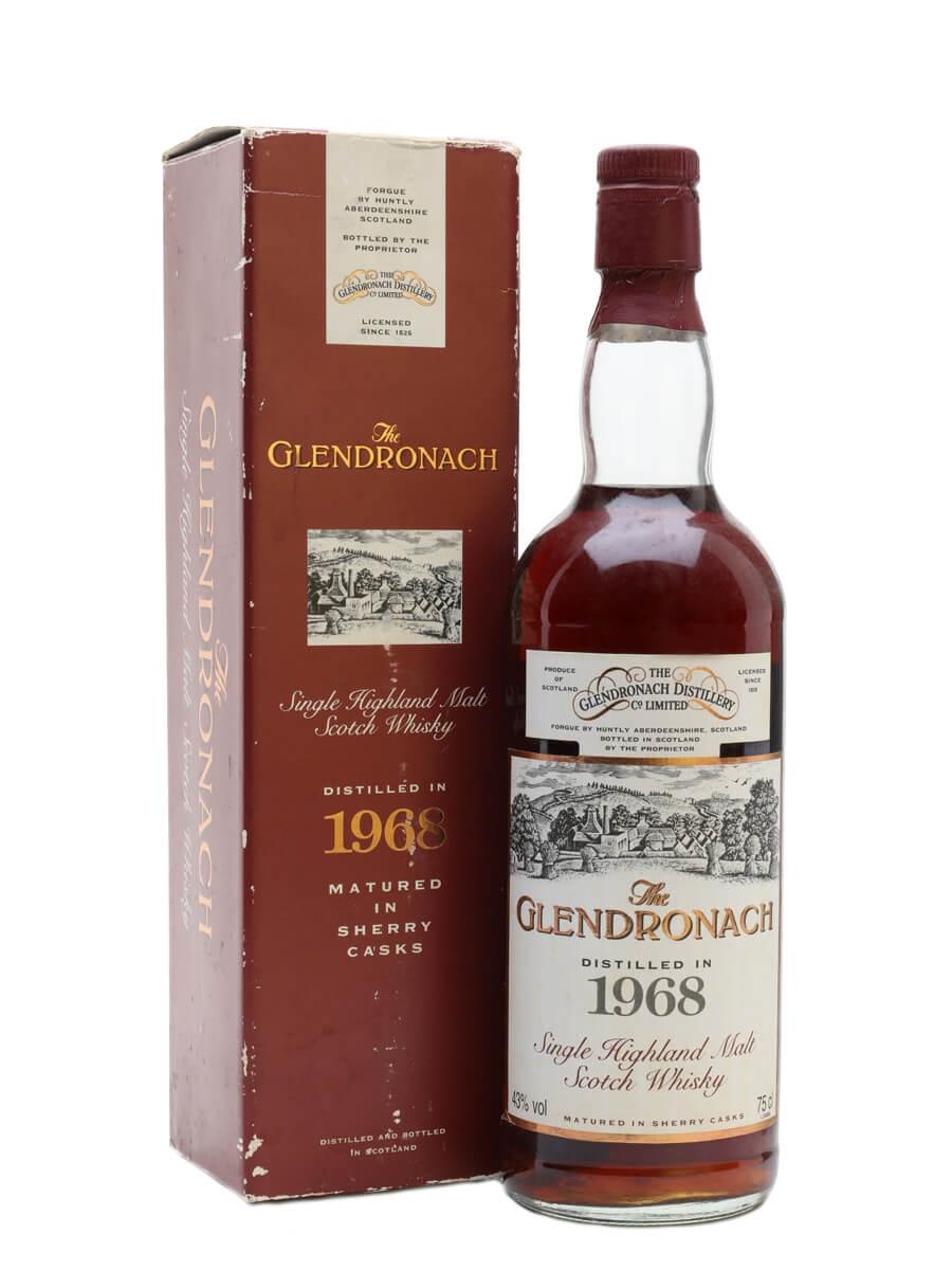 Glendronach 1968 / 25 Year Old / Sherry Cask