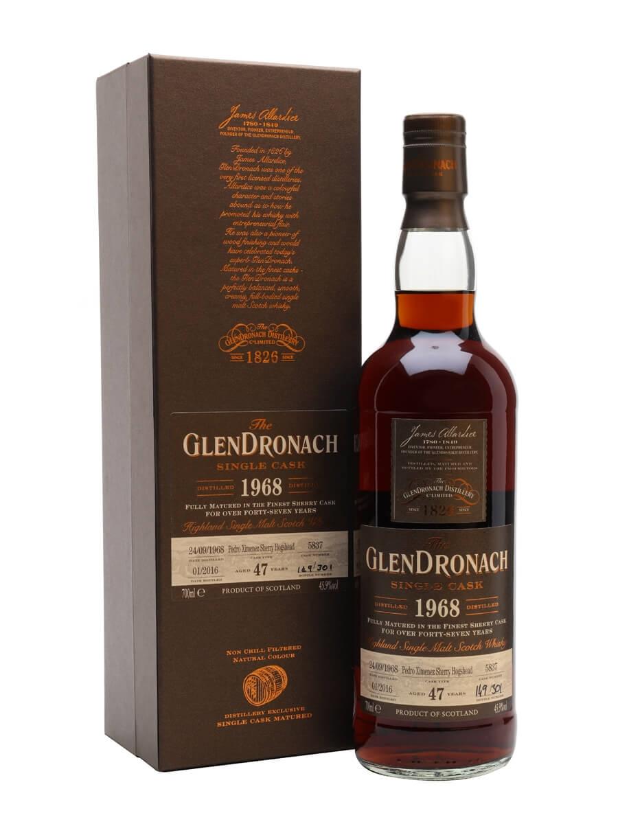 Glendronach 1968 / 47 Year Old / PX Hogshead #5837