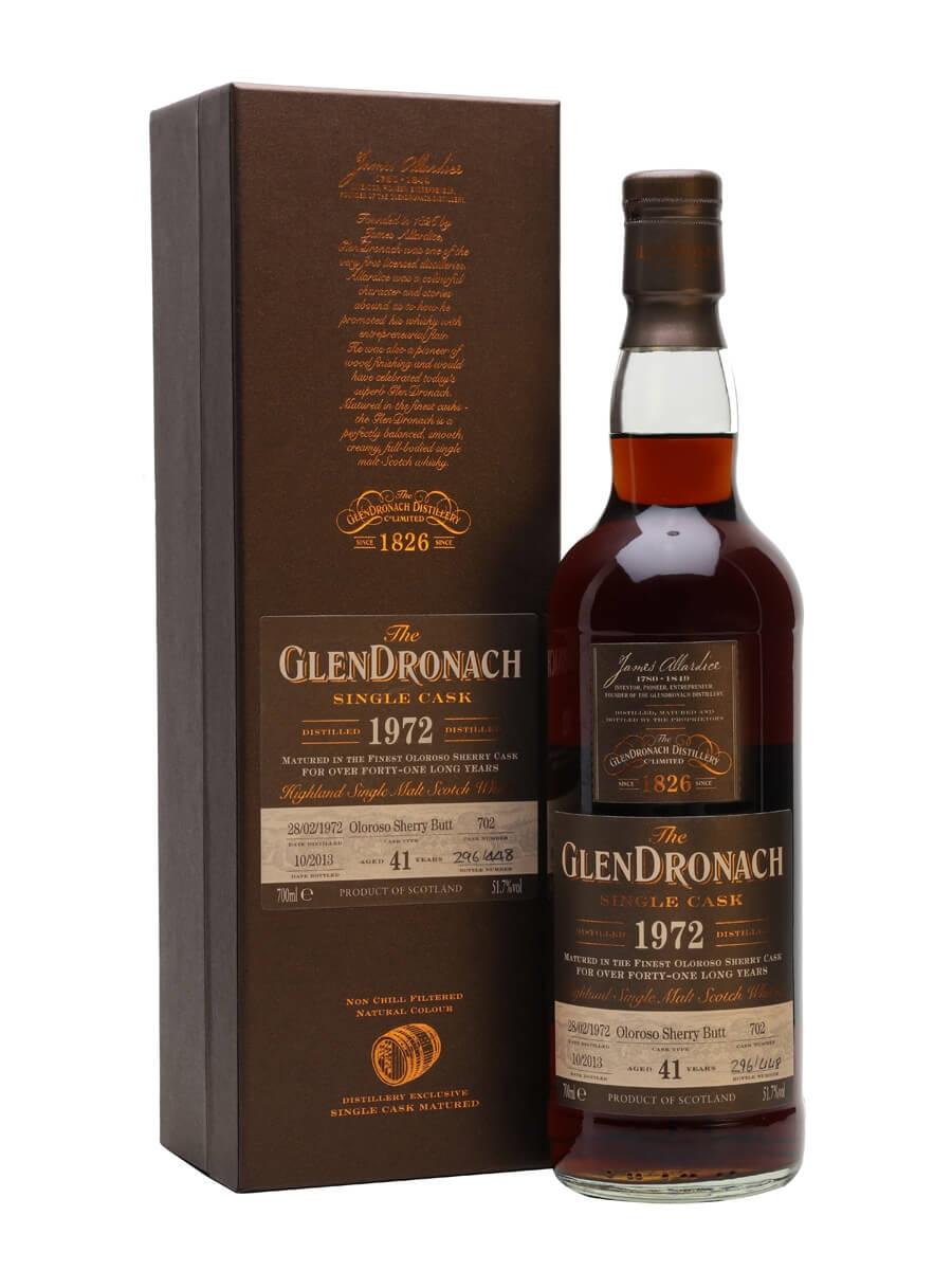 Glendronach 1972 / 41 Year Old / Sherry Oloroso Butt #702