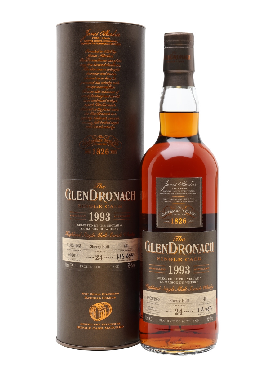 Glendronach 1993 24 Year Old / Nectar & LMDW