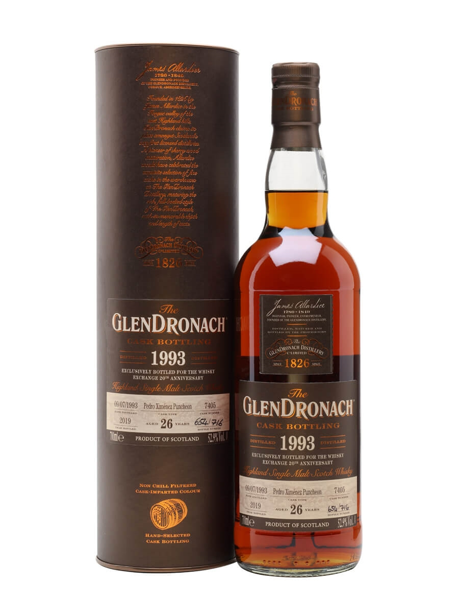 Glendronach 1993 / 26 Year Old / Sherry Cask 7405 / TWE Exclusive