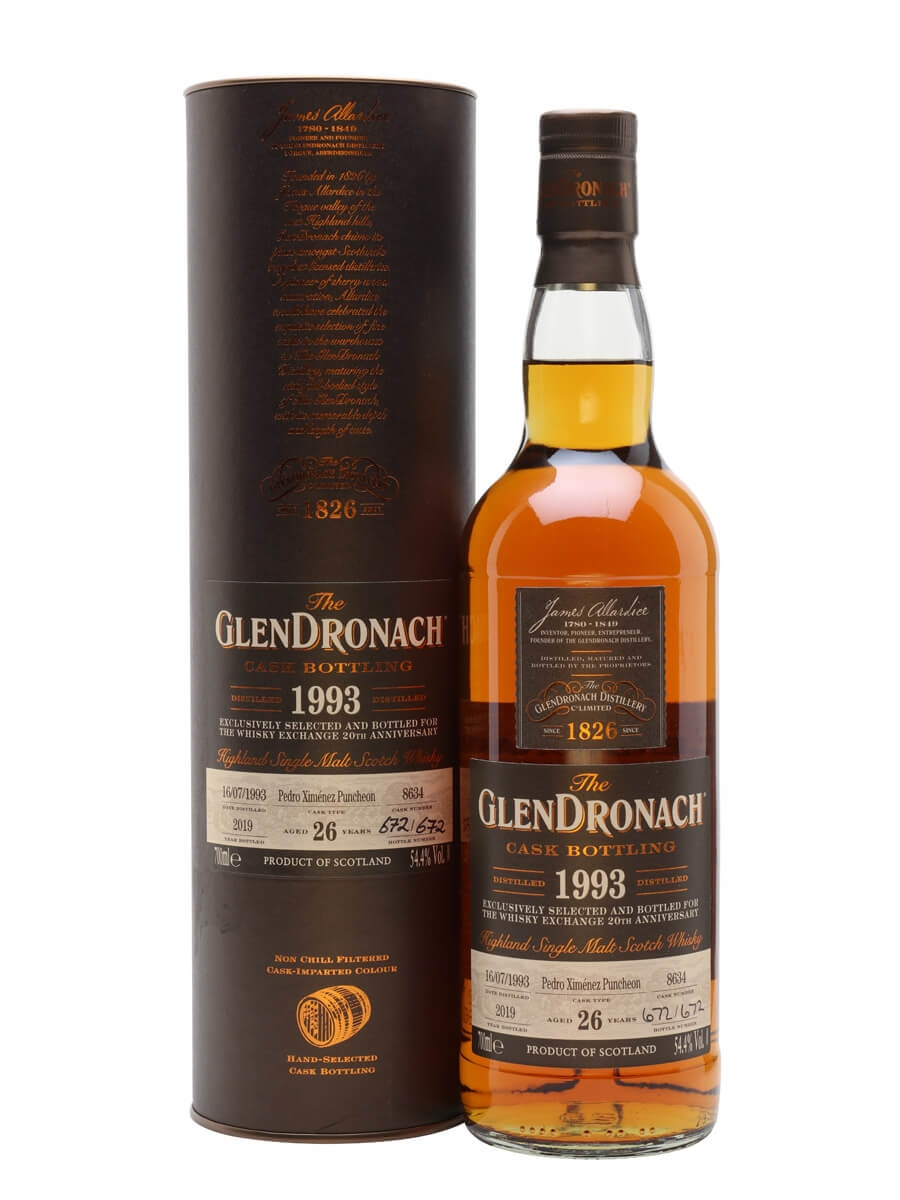 Glendronach 1993 / 26 Year Old / Sherry Cask 8634 / TWE Exclusive