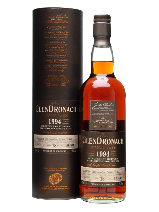 Glendronach 1994 / 18 Year Old / PX Puncheon #3547