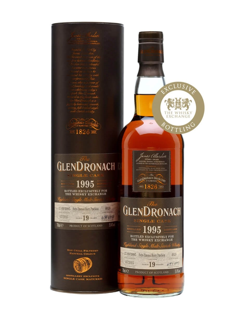 Glendronach 1995 / 19 Year Old / PX Puncheon / TWE Exclusive