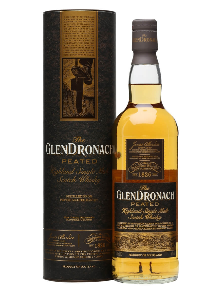 Image result for GlenDronach Peated